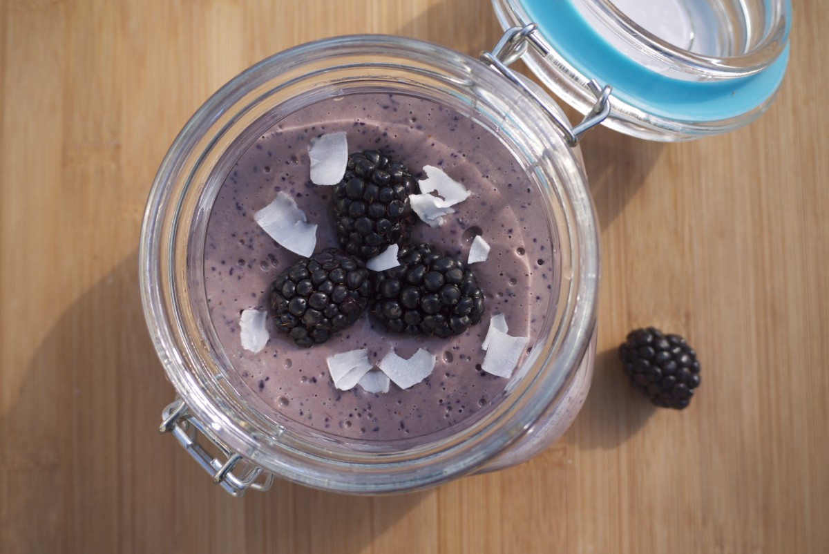 Blue Warrior Protein Smoothie