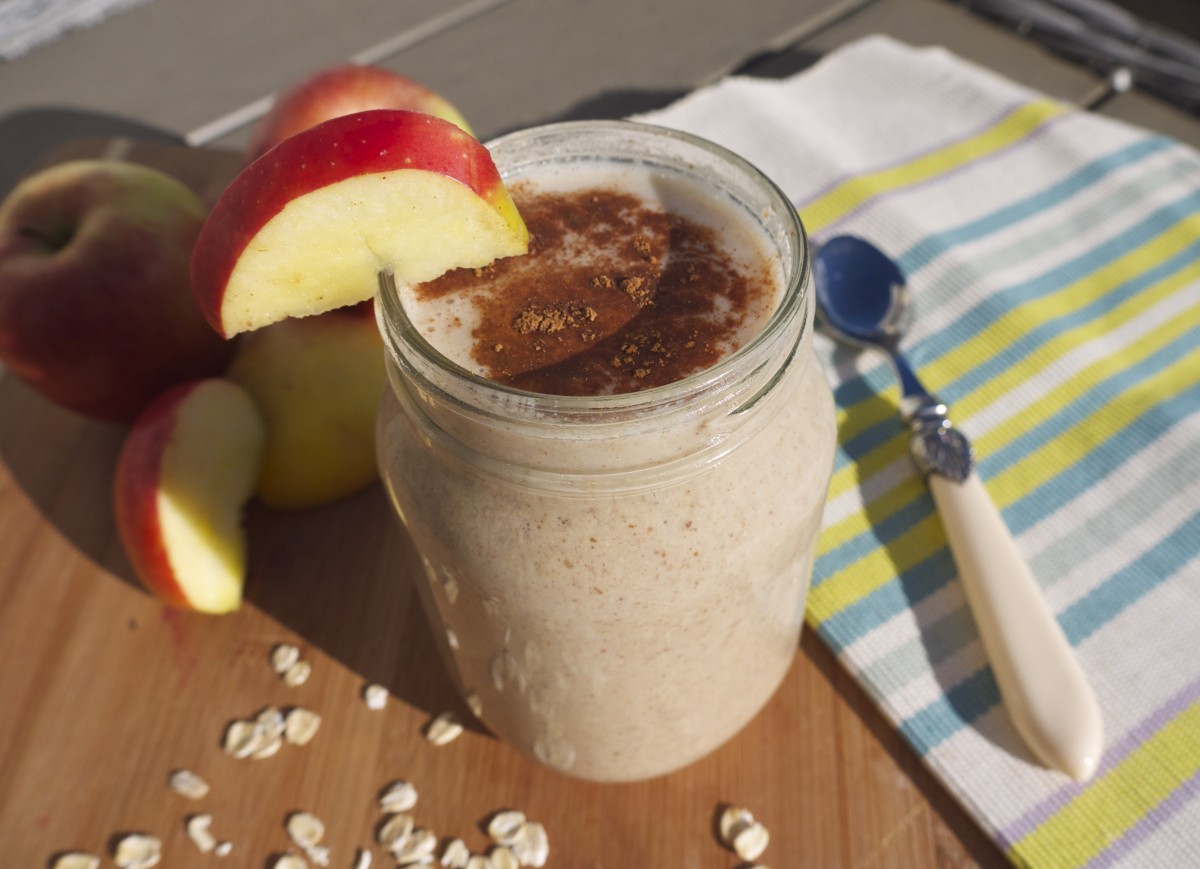 Apple Pie Breakfast Shake