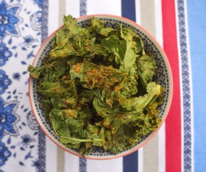 Curry Kale Crisps