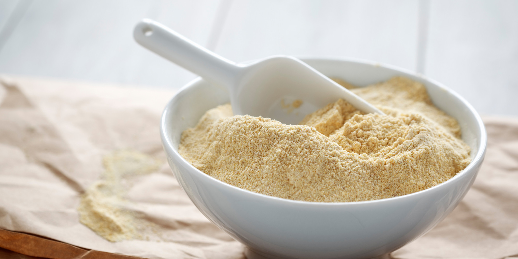 Chickpea Flour in a bowl